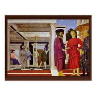 Flagellation Of Christ By Piero Della Francesca Post Cards
