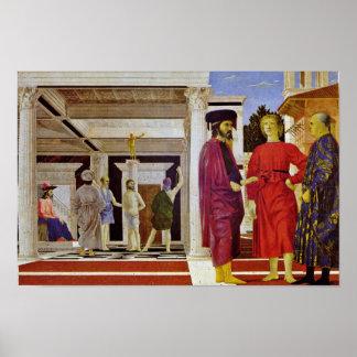 Flagellation Of Christ By Piero Della Francesca Print