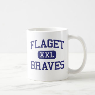Flaget - Braves - High - Louisville Kentucky Classic White Coffee Mug