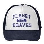 Flaget - Braves - High - Louisville Kentucky Trucker Hat