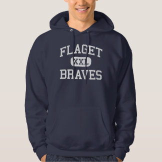 Flaget - Braves - High - Louisville Kentucky Hoodie