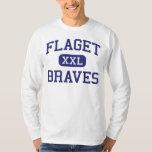 Flaget - Braves - High - Louisville Kentucky Tee Shirt