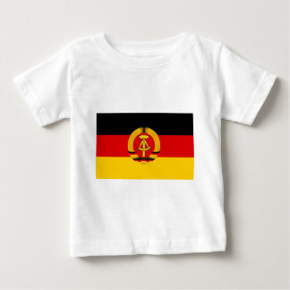 Flagge der DDR - Flag of the GDR (East Germany) Baby T-Shirt