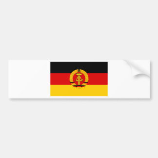Flagge der DDR - Flag of the GDR (East Germany) Bumper Sticker