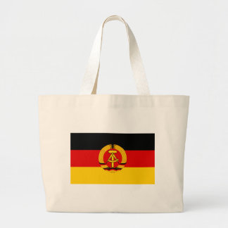 Flagge der DDR - Flag of the GDR (East Germany) Large Tote Bag