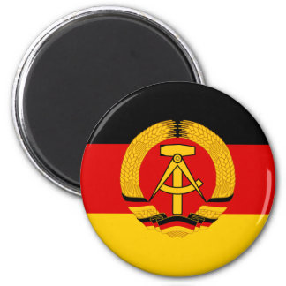 Flagge der DDR - Flag of the GDR (East Germany) Magnet