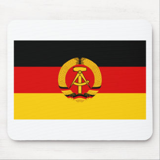 Flagge der DDR - Flag of the GDR (East Germany) Mouse Pad