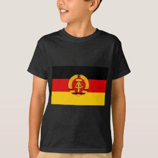 Flagge der DDR - Flag of the GDR (East Germany) T-Shirt