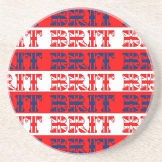 Flagged Brit Stripe Coaster
