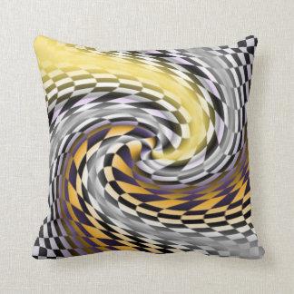 Flagged Throw Pillow