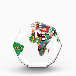 """Flagged World - Map of Flags of the World Acrylic Award<br><div class=""""desc"""">Flagged World - Map of Flags of the World world, world atlas, flag, flag pictures, flagged world, flags, flags of the world, globe, world, world flags, world map, map</div>"""