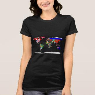 flagged world T-Shirt