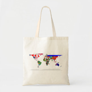 flagged world tote bag