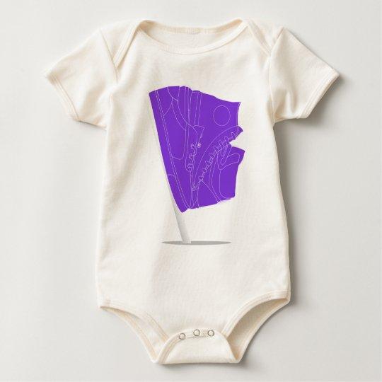 FlaggedShoes Baby Bodysuit