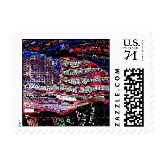 """""""Flagism"""" 59-cent Postage Stamp, by +RØSS"""
