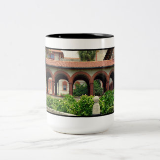 Flagler Archway Two-Tone Coffee Mug