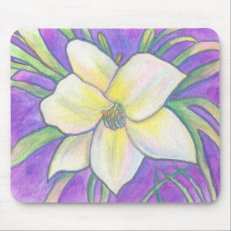 Flagler Beach Daylily Mouse Pad
