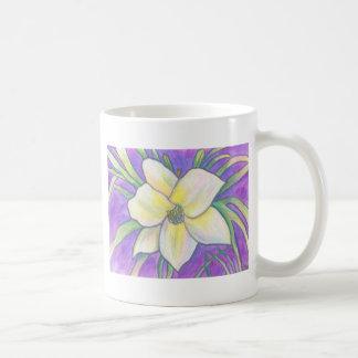 Flagler Beach Daylily Classic White Coffee Mug