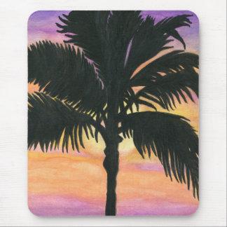 Flagler Beach Palm Tree Mouse Pad