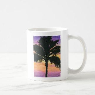 Flagler Beach Palm Tree Classic White Coffee Mug