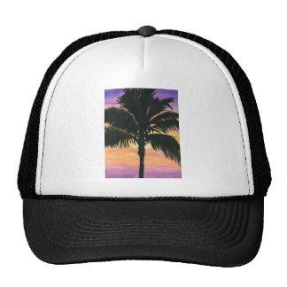 Flagler Beach Palm Tree Trucker Hat