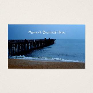 Flagler Beach Pier Business Card