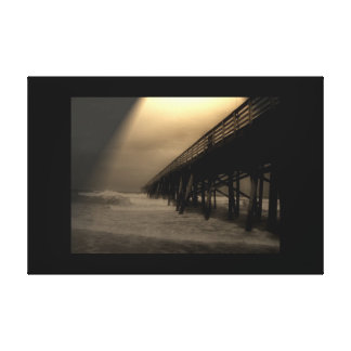 Flagler Beach Pier Canvas Print