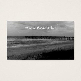 Flagler Beach Pier From the Shoreline Business Card