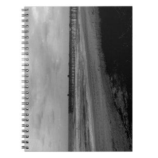 Flagler Beach Pier From the Shoreline Notebook