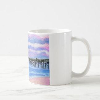 Flagler Beach Pier Classic White Coffee Mug