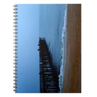 Flagler Beach Pier Notebook