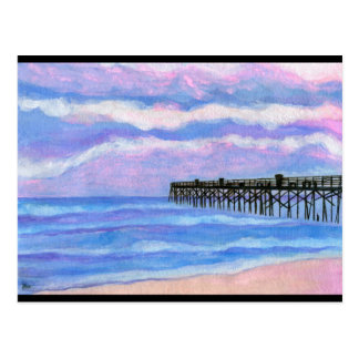 Flagler Beach Pier Postcard