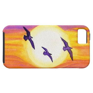 Flagler Beach Seagulls iPhone SE/5/5s Case