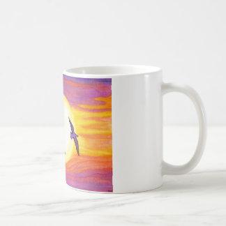 Flagler Beach Seagulls Classic White Coffee Mug
