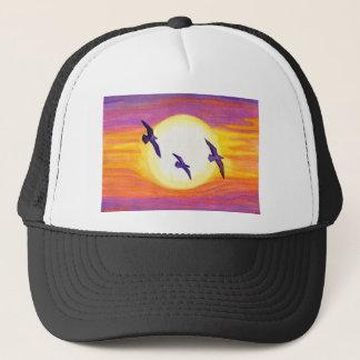 Flagler Beach Seagulls Trucker Hat