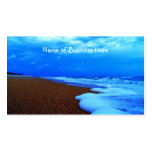 Flagler Beach Shoreline Double-Sided Standard Business Cards (Pack Of 100)