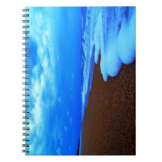 Flagler Beach Shoreline Spiral Notebook