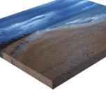 Flagler Beach Shoreline View Canvas Prints