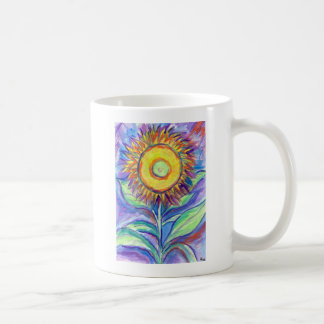Flagler Beach Sunflower Coffee Mug