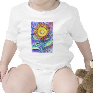 Flagler Beach Sunflower Baby Creeper