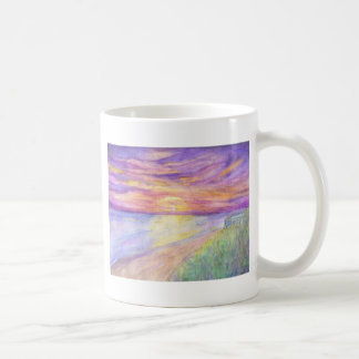 Flagler Beach Sunrise Classic White Coffee Mug