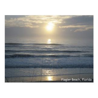Flagler Beach Sunrise Postcard