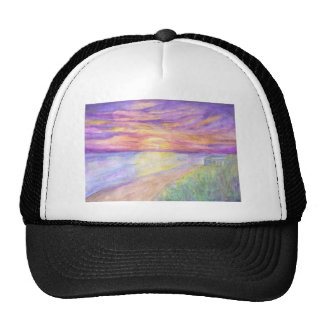 Flagler Beach Sunrise Trucker Hat
