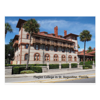 Flagler College in St. Augustine Florida Postcard