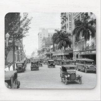 Flagler Street, Miami, 1920s Mouse Pad