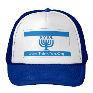 FlagMenorah  www.ThinkYah.Org Hat