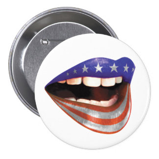 FLAGMOUTH button/badge - many sizes! Button