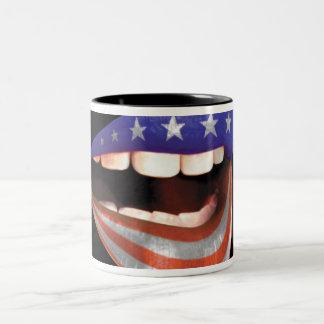 FLAGMOUTH 'Mug-Shot' Two-Tone Coffee Mug
