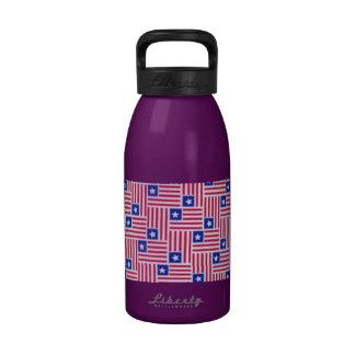 flags 101 reusable water bottles