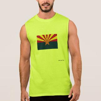 Flags 4 sleeveless shirts